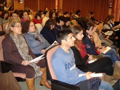 Asistentes curso cuidados centrados en el desarrollo