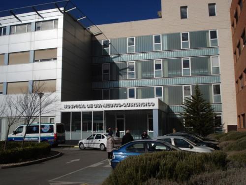 Fachada Hospital de Día Médico-quirúrgico del Hospital Mancha Centro