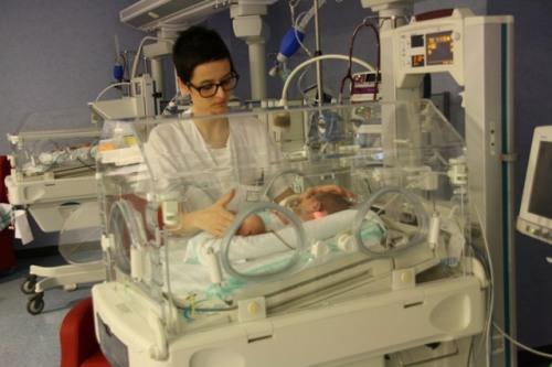UCI neonatal Alcázar en la que se aplican cuidados centrados en el desarrollo