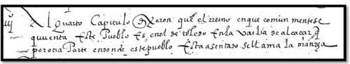 Copia de las Relaciones de Argamasilla de Alba de 1575