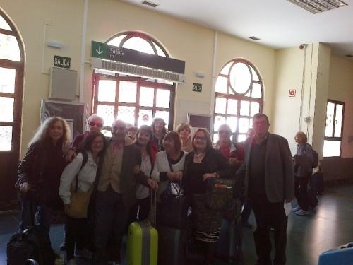 SATURNINO GARCIA VIAJE LITERARIO POR LA RUTA QUIJOTE BARCELONA ALCAZAR DE SAN JUAN