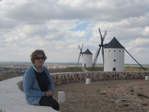 TERESA MARTÍN TAFFAREL VIAJE LITERARIO POR LA RUTA QUIJOTE BARCELONA ALCAZAR DE SAN JUAN