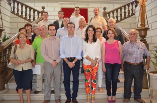 Ortega ha agradecido su implicación por la ciudad, por la cultura y por la atracción de visitantes