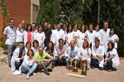 Profesionales Oftalmología con cuatro premios de la ASCRS