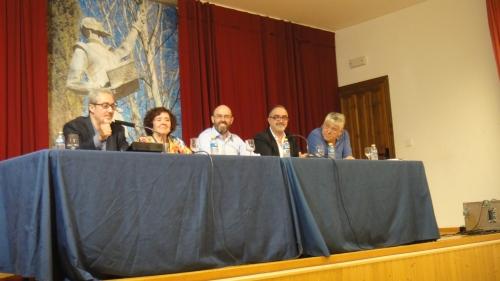 Jesús Sánchez, segundo por la derecha en la mesa