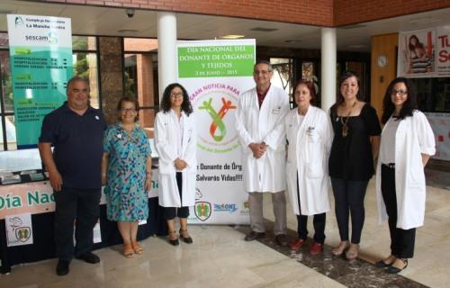 Participantes celebración Día del Donante Hospital Alcázar