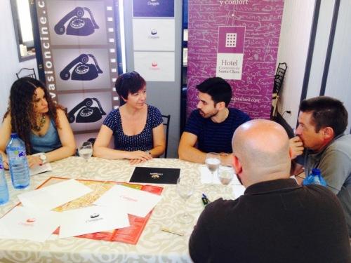 Reunión de Evasión Cine con Rosa Melchor