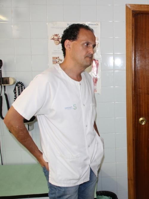 Víctor José Morales, médico Centro Salud Alcázar 1
