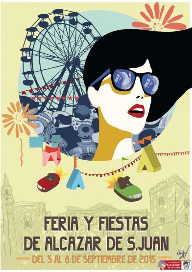 Cartel feria y Fiestas 2015