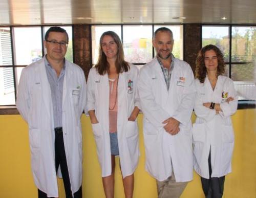 Miembros del Servicio de Urología del Hospital Mancha Centro