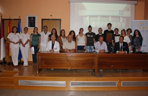 Foto de familia acto bienvenida alumnos Anatomía Patolóigica
