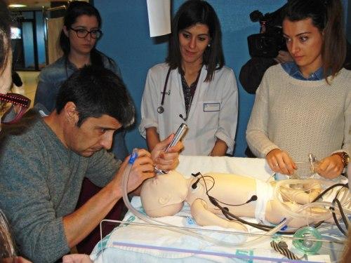 Imagen curso RCP neontal completa celebrado en Mancha Centro