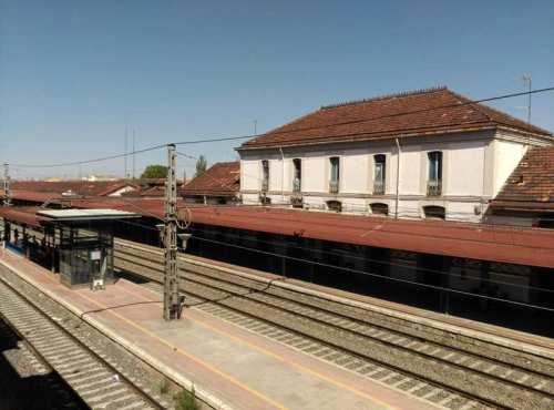 Panorámica de la estación