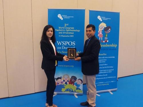 El Mancha Centro obtiene un nuevo premio internacional en el Congreso Mundial de Oftalmología Pediátrica y Estrabismo