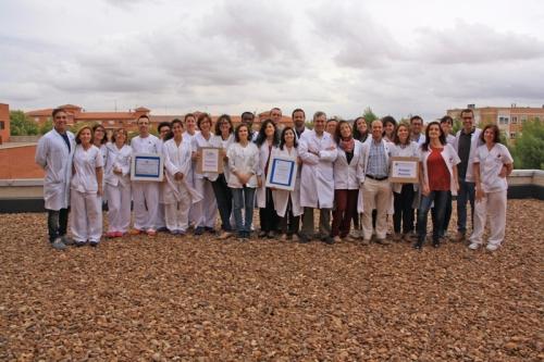 Servicio Oftalmología con los últimos premios nacionales