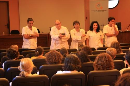 Encuentro nueva Dirección Enfermería con Consultas Externas 2