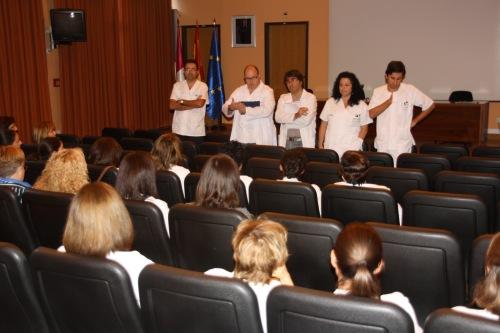 Encuentro nueva Dirección Enfermería con Consultas Externas