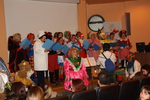 Actuación Amas de Casa Fiesta infantil hospital