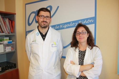 Sami Aoufi y Rebeca García responsables Asociación AEHR (1)
