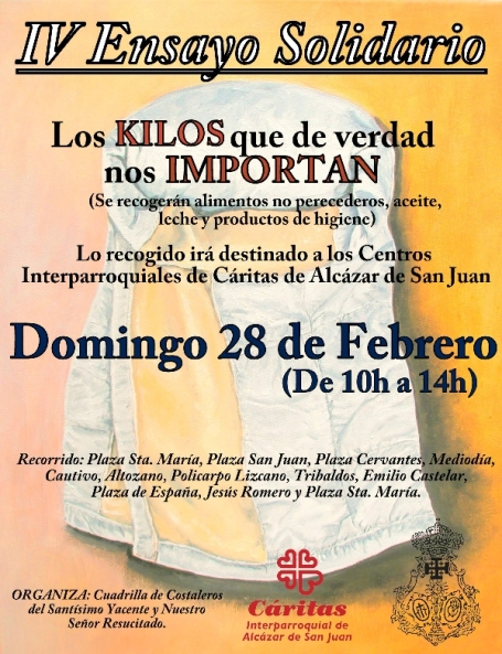 Cartel Ensayo Solidario 2016