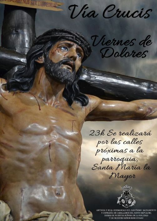Cartel Via Crucis 2017