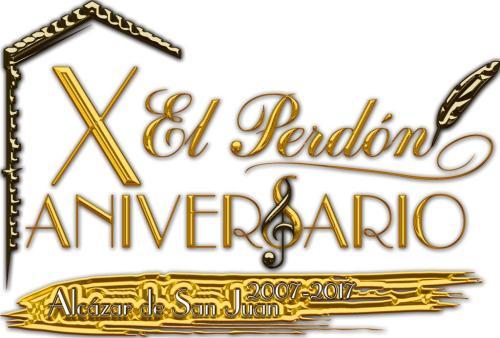 Logotipo X aniversario (Oro + Bronce + Blanco)