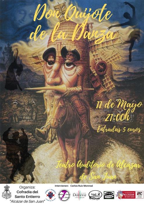 Cartel Final D Quijote Danza 11mayo2018